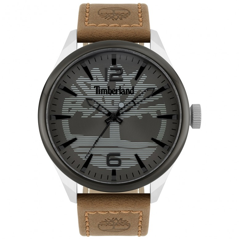 montre timberland cuir homme