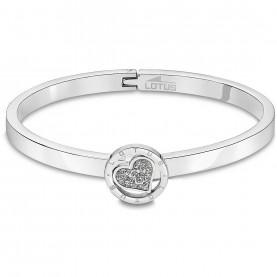 Bracelet rigide femme Lotus...