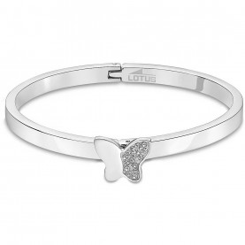 Bracelet Femme Rigide Lotus...