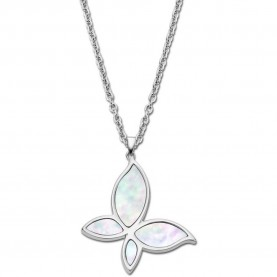 Lotus Style Woman Necklace...