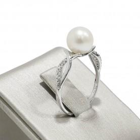Miluna Woman Ring Perlen...