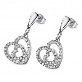 Ohrringe Frau Juwelen Lotus...