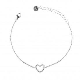 Bracelet Femme Or Blanc...