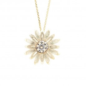 Daisy Woman Necklace 18Kt...