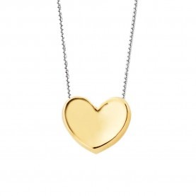 Collier Femme Coeur Or...
