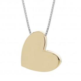 Collar Mujer Corazón Oro...