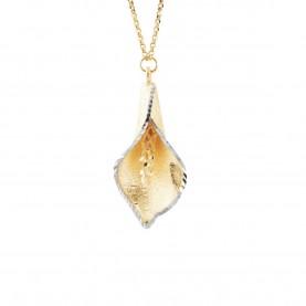 Calla Woman Necklace 18Kt...