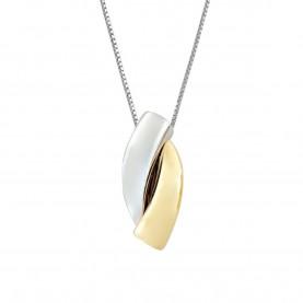 Collana Donna Oro Bicolore...