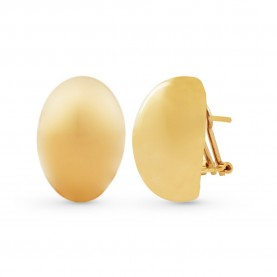 18Kt Yellow Gold Oval Woman...