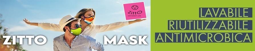MÁSCARA ZITTO: Máscaras Zitto lavables coloreadas Protección contra Virsus